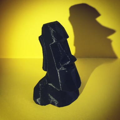 Low-Poly-Moai