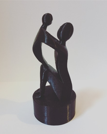 Mother's day sculpture